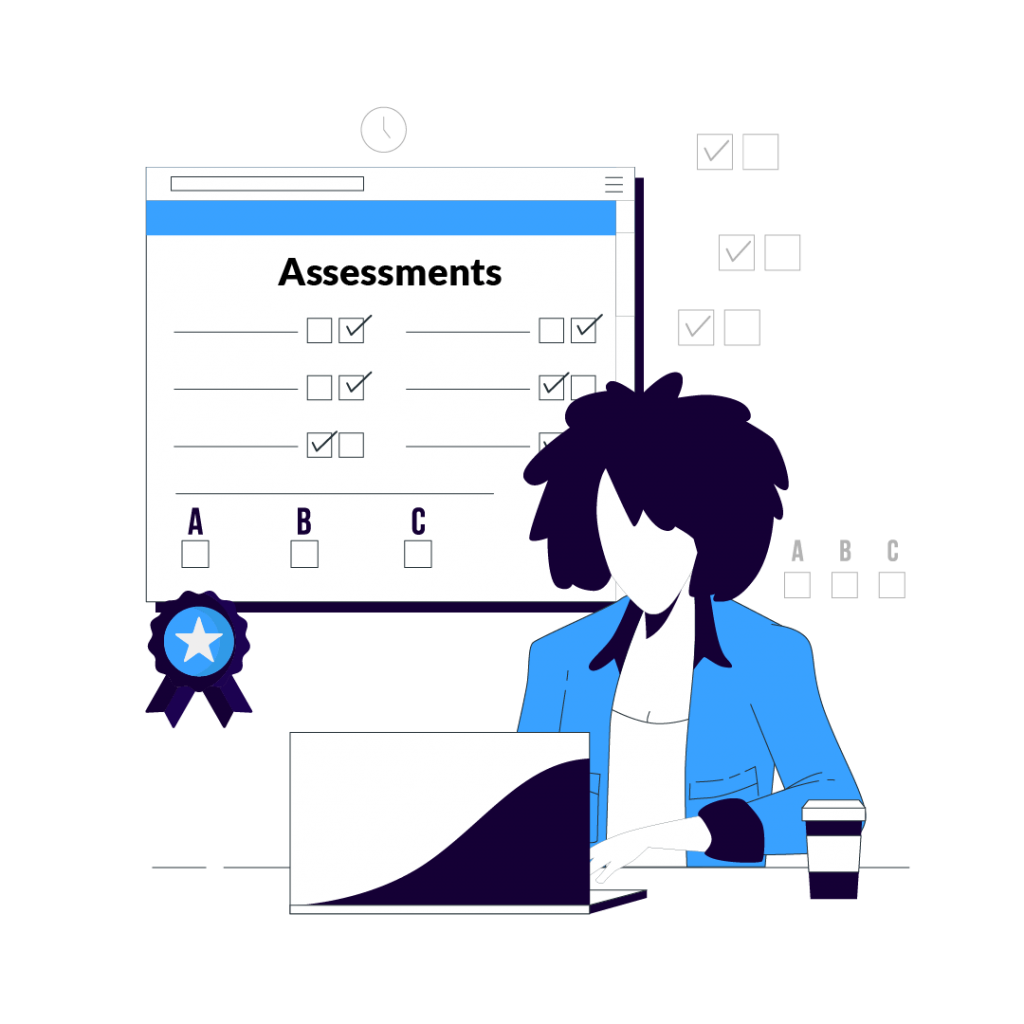 Assessments and Certificate